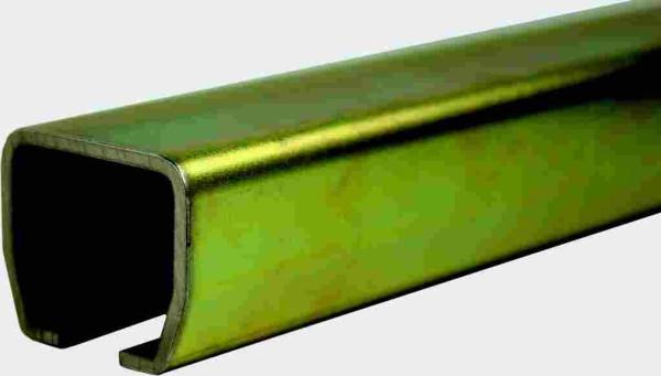Laufschienenprofil Stahl verz. 30mm, 6m Stange
