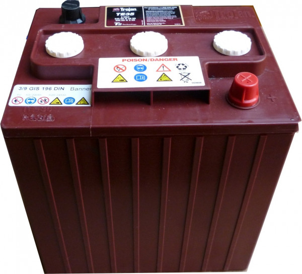 Batterie wartungsfrei 6V / 180 Ah