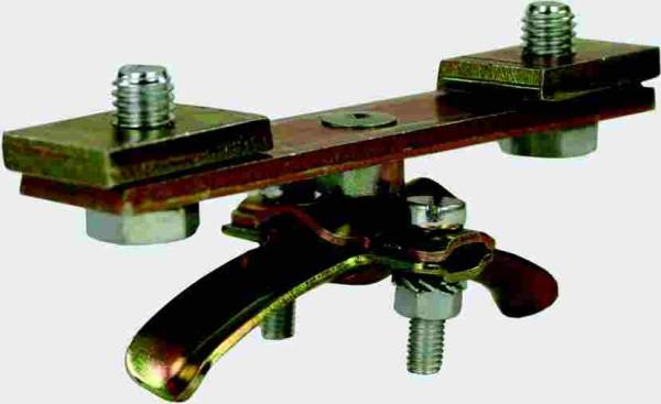 Endklemme Stahl vz für Laufschienenprofil